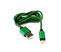 T-LC22 Braided Lightning to USB cable 1 m (Green)