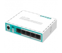 MIKROTIK hEX lite with power supply and case