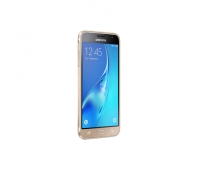 "Samsung Galaxy J3 (2016) J320F Dual SIM Gold, 5.0 "", Super AMOLED, 720 x 1280 pixels, Spreadtrum, SC9830, Internal RAM 1.5 GB, 8 GB, MicroSD up to 256 GB, Dual SIM, Micro-SIM, 3G, 4G, Main camera 8 MP, Second camera 5 MP, Android, 5.1.1, 2600 mAh, Warranty 12 month(s)"