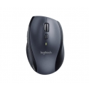 LOGITECH Mouse Wireless M705 Silver / Marathon - Laser - Tiny unifying nano receiver - Muis Zilver Draadloos