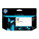 HP no.72 Ink Cart. Yellow with Vivera Ink (130ml)