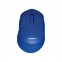 Logitech® M330 Silent Plus BLUE - IN-HOUSE/EMS,NO LANG,EMEA,RETAIL,2.4GHZ,M-R005