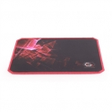 Gembird gaming mouse pad, black color, size L 400x450mm