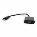 Gembird adapter HDMI-A(M) ->VGA (F), on cable, black