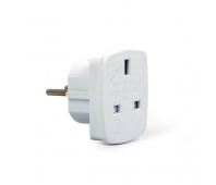 POWER ADAPTER AC UK TO EU/A-AC-UKEU-001 GEMBIRD