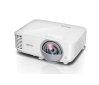 Projector BenQ MW826ST DLP, WXGA, 12000;1, 3400 ANSI; Short-throw(87''@0.91m)