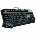 Cooler Master CM STORM CM Storm Devastator 3 gaming combo, RGB LED , anti-slip surfaces and grips Gaming, Wired, Keyboard layout EN, USB,