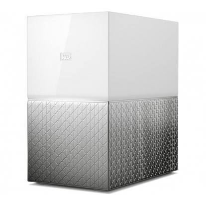 WD My Cloud Home Duo 12TB NAS 2xHDD Mirror Mode 1,4GHz QuadCore processor 1GB DDR3L RAM USB3.0 External RTL