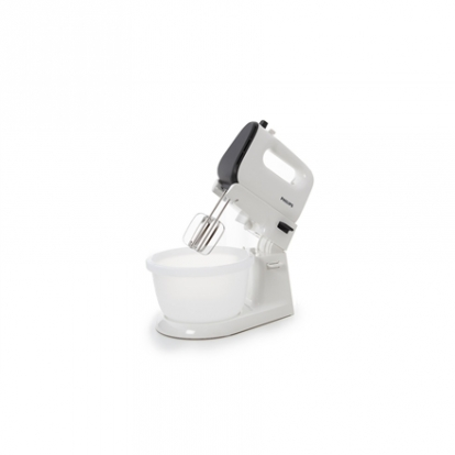 Philips Viva Collection Mixer HR3745/00 White, Corded, 450 W, Number of speeds 5 + Turbo, Shaft material Stainless steel,