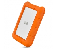 LACIE RUGGED 4TB USB-C USB3.0 Drop- crush- and rain-resistant for all-terrain use orange