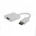 Gembird Displayport male to HDMI female adapter, 10cm