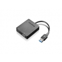 Lenovo Universal USB 3.0 to VGA/HDMI Black, Adapter