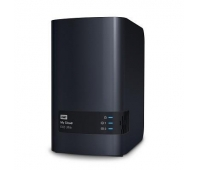 WD My Cloud EX2 Ultra NAS 8TB personal cloud stor. incl WD RED Drives 2-bay Dual Gigabit Ethernet 1.3GHz CPU DNLA RAID1 NAS RTL