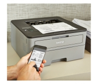Brother HLL2350DW Mono, Laser, Printer, Wi-Fi, A4, Grey/ black