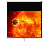AVTEK Video 200 projection area 195x146,5cm 4:3 Matt-White black borders