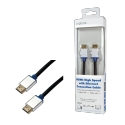 LOGILINK BHAA15 LOGILINK - Ethernet Cable, HDMI A Male to HDMI A Male, 1.5m