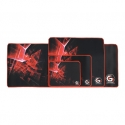 Gembird gaming mouse pad pro, black color, size L 400x450mm
