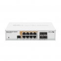 MikroTik Cloud Router Switch CRS112-8P-4S-IN SFP ports quantity 4, Desktop, Dual Power Suply: 28V 3.4V included. (Optional additional power adapter 48-57V if POE+ is required) W, Managed, 8