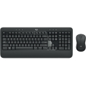 Logitech MK540 ADVANCED Wireless Keyboard and Mouse Combo, Black, US