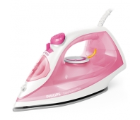 Philips Steam iron GC2142/40 2000W,25g/min, 270ml watertank - (Pink COLOR)