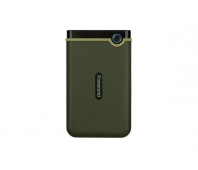 External HDD|TRANSCEND|StoreJet|1TB|USB 3.1|Colour Green|TS1TSJ25M3G