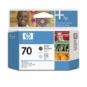 HP no.70 Printhead Photo Black and Light Grey