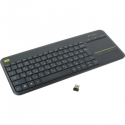 LOGITECH Wireless Touch Keyboard K400 Plus Black RU