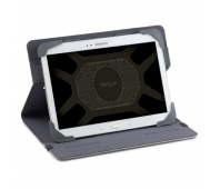 "Targus Fit N' Grip 7-8"" Rotating Universal Tablet Case Grey"