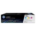 Toneris HP 126A Tri-pack CYM | Color LaserJet Pro CP1025