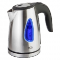 ECG RK 1040 kettle 1,0l; 1500 W; Removable and washable limescale filter; Stainless steel design
