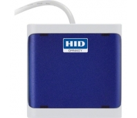 HID OMNIKEY 5022 CL contactless only (13.56 MHZ) reader, dark blue