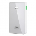 APC Mobile Power Bank, 5000mAh Li-polymer (for smatphones, tablets) White