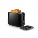Philips Daily Collection Toaster HD2582/90 8 settings Integrated bun warming rack Compact design Dust cover