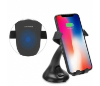 FY-N5F Car wireless charger/holder (Black)
