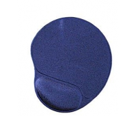 Gembird MP-GEL-B Gel mouse pad with wrist support, blue Blue, Gel mouse pad