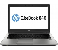 "HP EliteBook 840 G1, 14"" HD+ 1600x900, i5-4300U 2.90GHz, 4GB RAM DDR3, 120GB SSD, Scandinavian backlit keyboard, Win 8/10 Pro, Grade A refurbished (GAMYKLIŠKAI ATNAUJINTAS, BE PAKUOTĖS)"