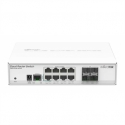 NET ROUTER/SWITCH 8PORT 1000M/4SFP CRS112-8G-4S-IN MIKROTIK