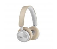 Bang & Olufsen Beoplay H9i - Headphones with mic - full size - Bluetooth - wireless - active noise cancelling - natural