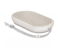 Bang & Olufsen BeoPlay P2 - Speaker - for portable use - wireless - Bluetooth - 30 Watt - 2-way - sand stone