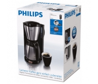 Philips Daily Collection Coffee maker HD7546/20 With Black & metal