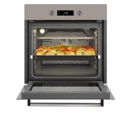 BEKO Oven BIM24301BGCS 60 cm, A, telescopic rails, sand color glass
