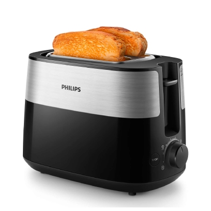 Philips Daily Collection Toaster HD2516/90, Black