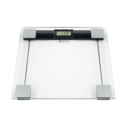 ECG ECGOV127Glass Tempered safety glass, 6 mm ultra slim design, measuring body fat, water and muscle memory for 12 persons, LCD display