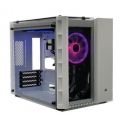CORSAIR Crystal Series 280X RGB Tempered Glass Micro ATX PC Case White
