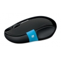 Microsoft H3S-00002 Sculpt Comfort Black, Blue, Bluetooth, Wireless connection Yes