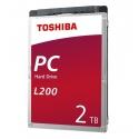 Internal HDD Toshiba L200 2,5'' 2TB SATA 5400RPM 128MB BULK