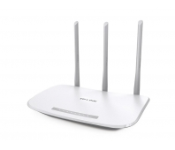 Wireless Router|TP-LINK|IEEE 802.11b|IEEE 802.11g|IEEE 802.11n|1 WAN|4x10/100M|Number of antennas 3|TL-WR845N