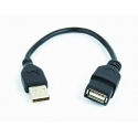 CABLE USB2 EXTENSION AM-AF/CCP-USB2-AMAF-0.15M GEMBIRD