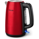 Philips Kettle HD9352/60 2200W 1.7l, solar red colored metal, spring lid