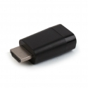 Gembird adapter single port, blister HDMI-A(M)->VGA (F)